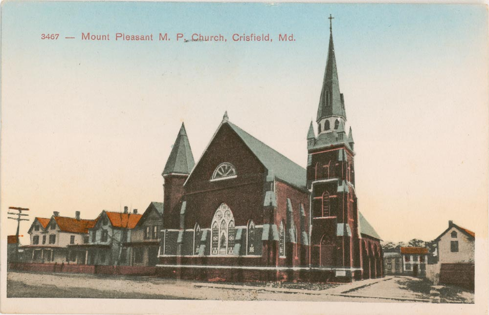 Mount Pleasant Church Post Card