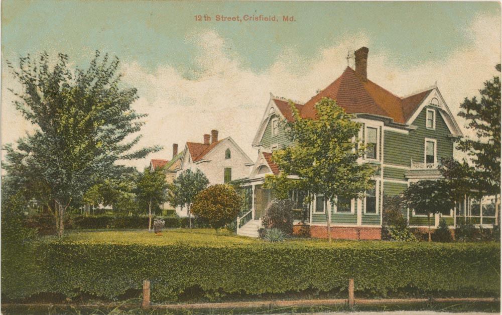 12th Street Crisfield Post Card